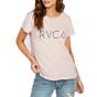 RVCA Women's Angler Pocket T-Shirt - Dusty Blush