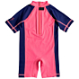 Roxy Infant So Sandy Spring Suit - Neon Grapefruit