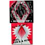 Surfco Hawaii Diamond Tip Shortboard Nose Guard - Red