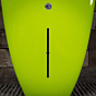 CJ Nelson Designs The Sprout Thunderbolt 9'2 x 23 x 3 Surfboard - Army - Fin