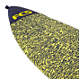 FCS Stretch Funboard Surfboard Cover - Ice Yellow