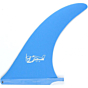 "True Ames Fins 7"" Greenough 4A Fin - Powder Blue"