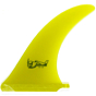 True Ames Fins 8'' Greenough 4A Fin - Yellow