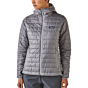 Patagonia Women's Nano Puff Hoody Jacket - Feather Grey