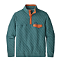 Patagonia Organic Cotton Quilt Snap-T Pullover - Tasmanian Teal