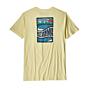 Patagonia Cosmic Peaks Organic T-Shirt - Resin Yellow