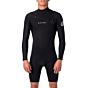 Rip Curl Dawn Patrol 2mm Long Sleeve Chest Zip Spring Wetsuit - Black