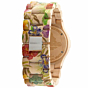 WeWood Date Watch - Flower Beige