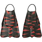 DaFiN Zak Noyle X NSLA Swim Fins - Black/Red