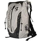 Geckobrands Paddler 45L Dry Backpack - Grey/Black