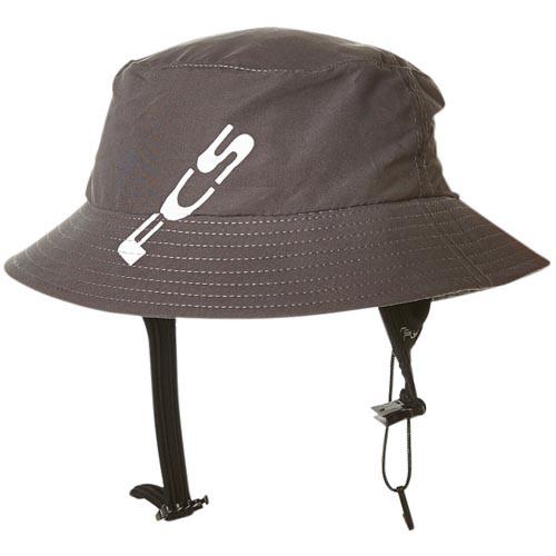 FCS Wet Bucket Water Hat - Gunmetal