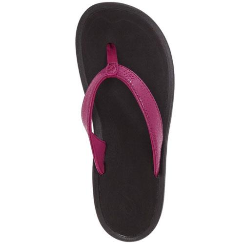 Olukai Women's Kulapa Kai Sandals - Pokeberry/Black