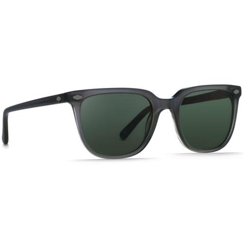 Raen Arlo Polarized Sunglasses - Matte Grey Crystal/Green