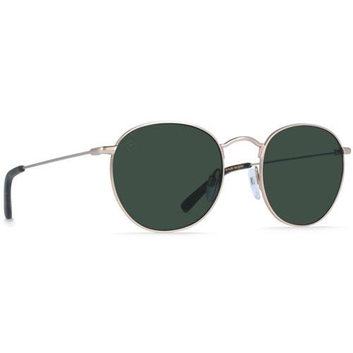 Raen Benson Polarized Sunglasses - Japanese Gold/Brindle Tortoise/Green