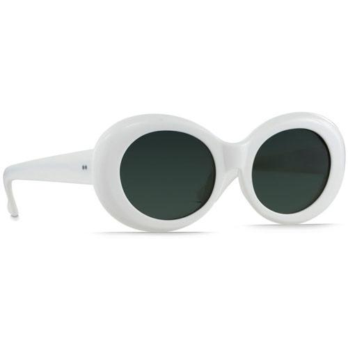 Raen Figurative Sunglasses - Peroxide/Green