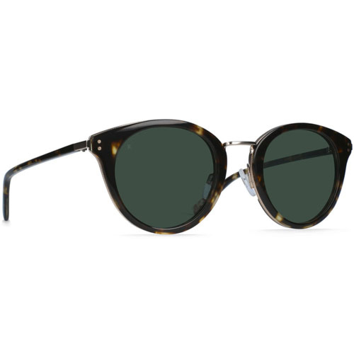 Raen Potrero Sunglasses - Brindle Tortoise/Japanese Gold/Green