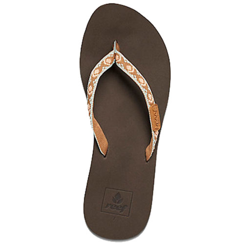 Reef Women's Ginger Sandals - Brown/Peach