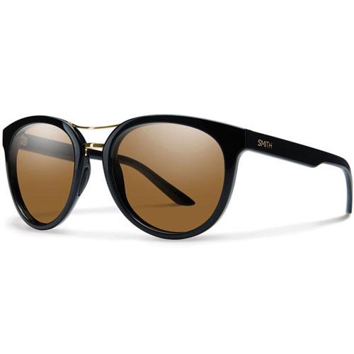 Smith Women's Bridgetown Polarized Sunglasses - Black/Chromapop Brown