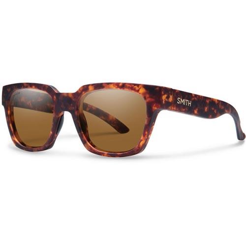 Smith Comstock Polarized Sunglasses - Matte Vintage Havana/Chromapop Brown