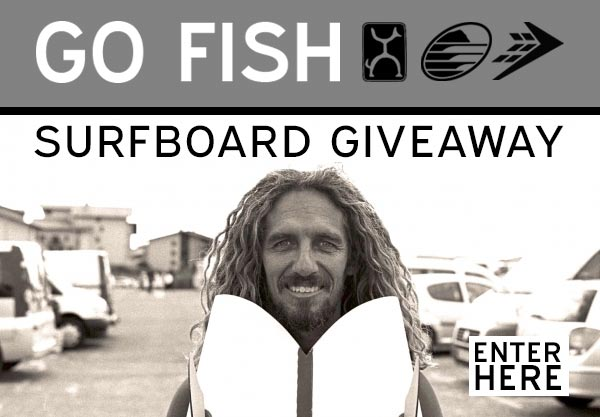 Win a Firewire Go Fish Surfboard