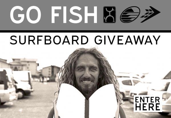 Win a Firewire Go Fish Surfboard
