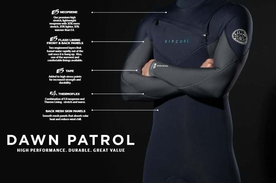 Rip Curl Dawn Patrol Wetsuits